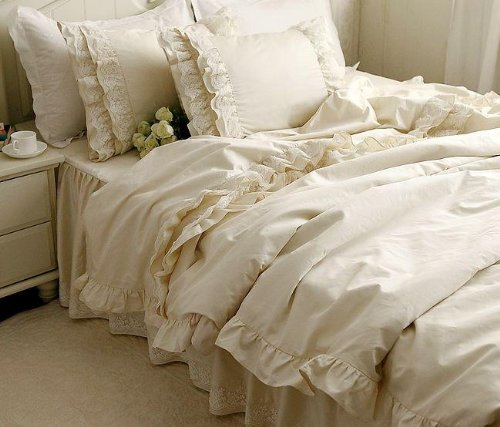 Fadfay Home Textile Luxury Bedding Set Princess Lace