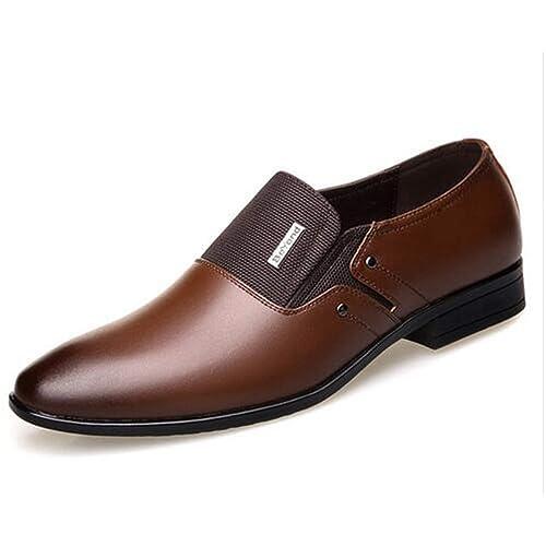 Hombres Formal Zapatos De Boda De Primavera OtoñO Mocasines Zapatos Puntiagudos: Amazon.es: Zapatos y complementos