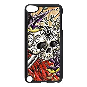 Winfors Artistic Skull Phone Case For Ipod Touch 5 [Pattern-4]