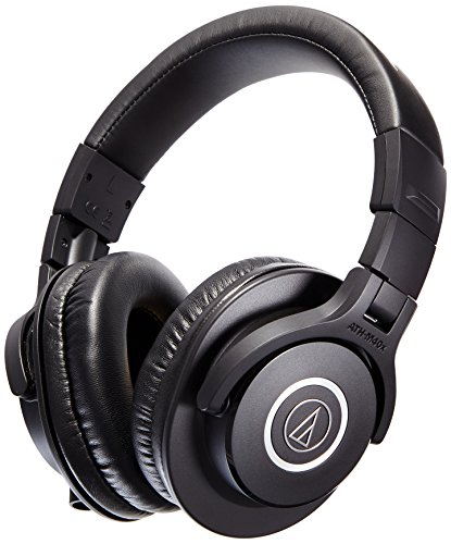 Amazon Lightning Deal 73% claimed: Audio-Technica ATH-M40x Professional Headphones
