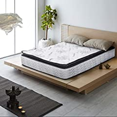 Are you suffering from painful mornings and restless nights? This pillow-top mattress gives you extra bounce and helps you wake up extra fresh. The premium pillow top mattress is loaded with unique qualities unlike any other in its class. It ...