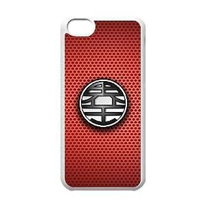 iPhone 5c Cell Phone Case White Dragon Ball Z CRV Cell Phone Case Back Custom