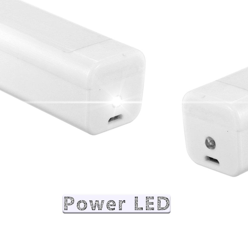 CXvwons Ventilateur /à Main Silencieux Portable Ventilateur Mini Fan avec Rechargeable LG 1200mAh Batterie Upgrade 3 Mode Vitesse Mini USB Ventilateur
