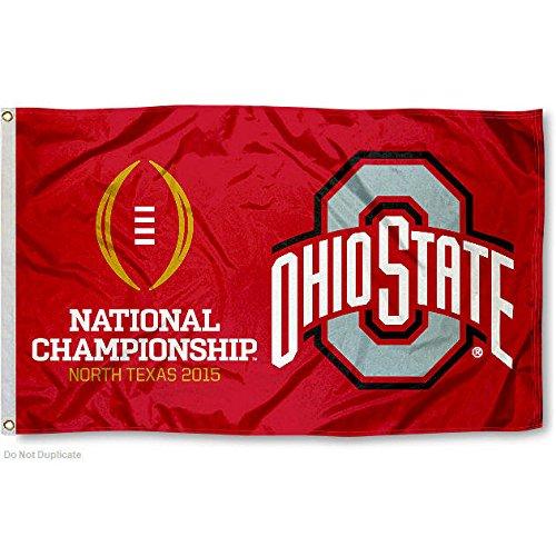 Ohio State University National Championship Game Flag