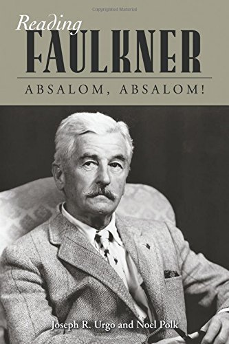 an analysis of guilt in absalom absalom a story by william faulkner Sample essay topic, essay writing: faulkners absalom, absalom: an innovative narrative technique - 1994 words faulkner's absalom, absalom: an innovative narrative techniqueshawn montano guilt should be viewed through the eyes of more than one person, southern or otherwise.