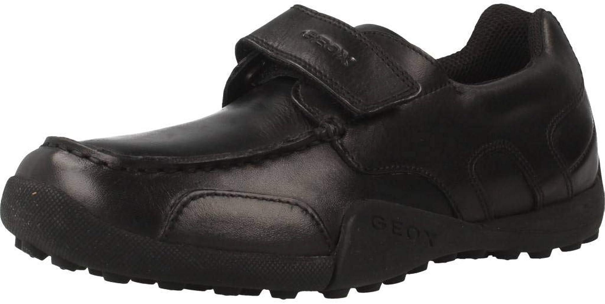 Zapatos de Cordones para niño, Color Negro (C9999), Marca GEOX, Modelo Zapatos De Cordones para Niño GEOX W.SNAKEM B Negro