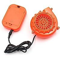 Mini Inflatable Fan - VOCOO Mini Fan Blower For Mascot Head Inflatable Costume (Orange)