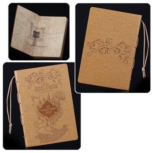 Harry Potter Marauder's Map Journal Quantum Mechanix HP-0703