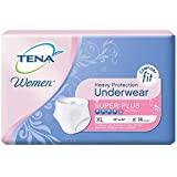 TENA Incontinence Underwear for Women paQuUV, 4Pack (XL, 56 Count Total)