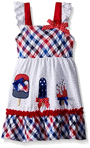 Blue Plaid Seersucker Skirt - 3