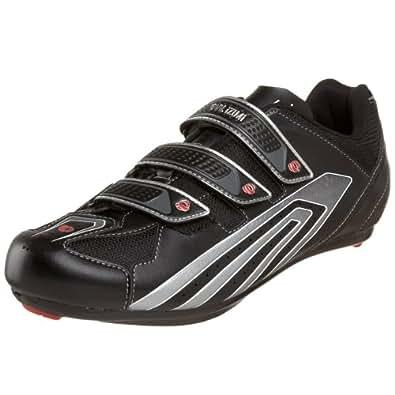 Pearl iZUMi Men's Select Road Cycling Shoe,Black/Silver,40 D EU
