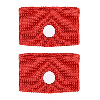 Anti-Nausea 1 Pair Wristbands Motion Sickness Wristbands for Travel Plane Bus Red Estimated Price £4.11 -