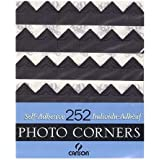 Canson Self-Adhesive Photo Corners Black (Pack Of 252)