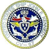 USS JFK Lapel Pin or Hat Pin