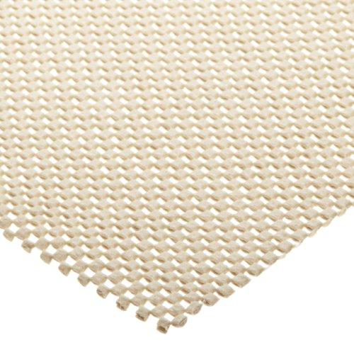 """Tenura 75378-0000 White Fabric Non-Slip Netting, 6' Length x 20"""" Width"""