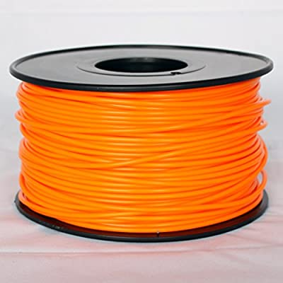iEagle Solid Orange 3.0mm ABS Filament - 2.0lb. Spool for 3D Printers