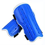 football protective gear - Kids Child Soccer Shin Pads, Youth Soccer Shin Guards Shinguards for Boys Girls, Lightweight and Breathable Child Calf Protective Gear Soccer Equipment for 5-12 Years Old Children Teenagers (Blue)