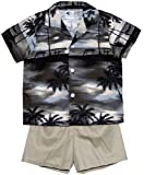 RJC Boys Night Time Surf 2pc Set in Khaki - 6T