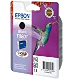 Epson Original T0801  Claria Black Ink Cartridge