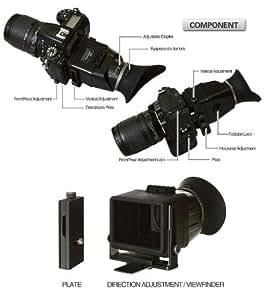 Deep-Deal swivi Visor LCD viewfinder Canon 5D MKIII 60D Sony a55 Nikon D800 view finder