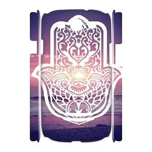 Hjqi - Custom hamsa hand 3D Phone Case, hamsa hand Personalized Case for Samsung Galaxy S3 I9300