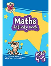 New Maths Activity Book for Ages 4-5 (Reception): perfect for learning at home