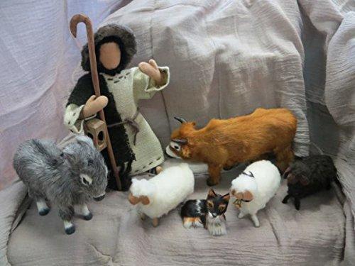 ESEL - Muli - Zubehör für 30 cm Biblische Biblische Biblische Erzählfiguren, Egli-Figuren, Bauernhof, Weihnachtskrippe B015792WG8 Figuren baa454
