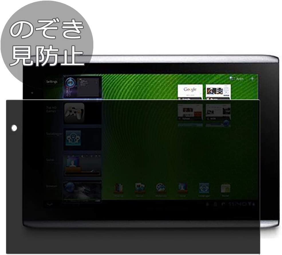 Synvy Privacy Screen Protector Film for ACER iconia Tab A501 10.1