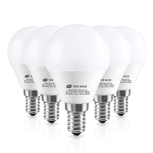 Bombillas LED E14 de rosca Edison pequeña (SES), focos de pelota ...