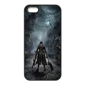 iPhone 5,5S Phone Case Black Bloodborne ZFC903693