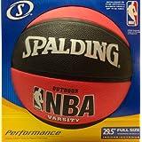 Spalding NBA Varsity Basket Ball Size-7, Red/Black