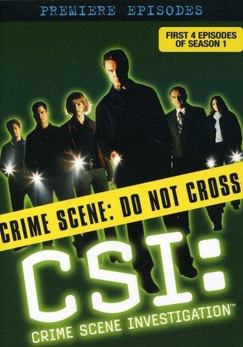 CSI: Premiere Episodes (Full Frame, Sensormatic)