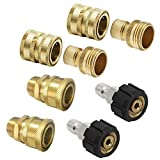New Prince Mark M22 Ultimate Pressure Washer Adapter Set 3/8'...