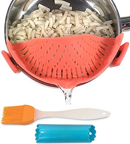 strainer spaghetti colander silicone Salbree