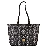 New Disney Dooney & Bourke Jack Skellington Haunted Mansion Wallpaper Shopper Tote Purse - Nightmare Before Christmas