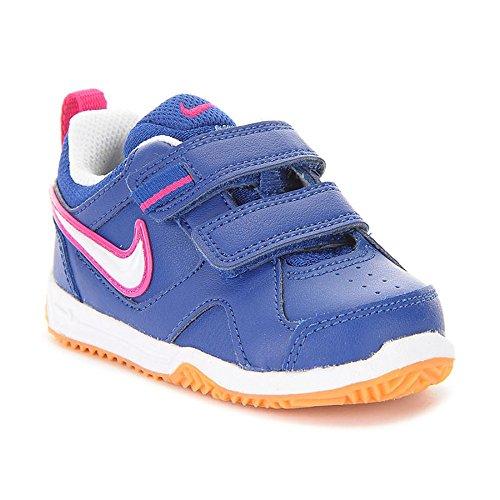 Nike Mädchen Lykin 11 (Tdv) Lauflernschuhe Blau / Weiß / Braun (Insgn Bl / White-Gm Lght Brwn-Vv)