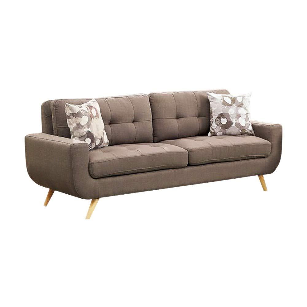 Amazon.com: Benzara BM138005 Modern Tufted Sofa with U ...