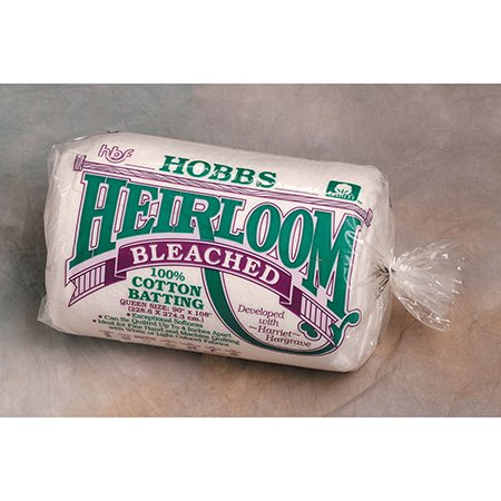 - Hobbs HB90 Batting Heirloom Bleached Cotton, 90