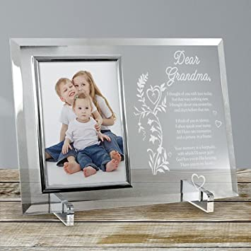 Amazon.com - Your Memory is a Keepsake Personalized Beveled Glass ...