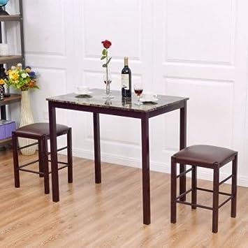 25 Home Decor Table De Salle A Manger Pour Deux Imitation Marbre