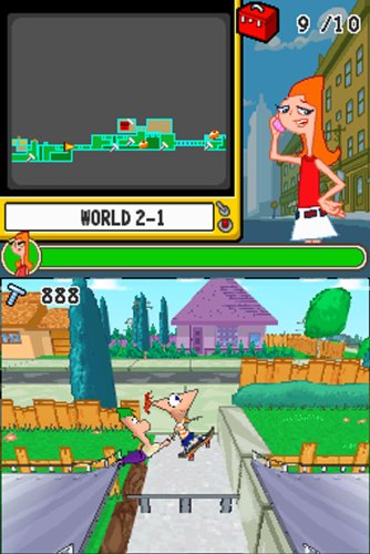 ride ds and ferb Phineas again