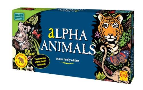 Green Board Games Alpha Animals