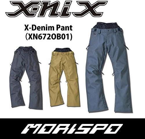 X-NIX エクスニクス X-DENIM PANT XN672OB01 16-17 スノーボードウエア メンズパンツ NV [NAVY] Large