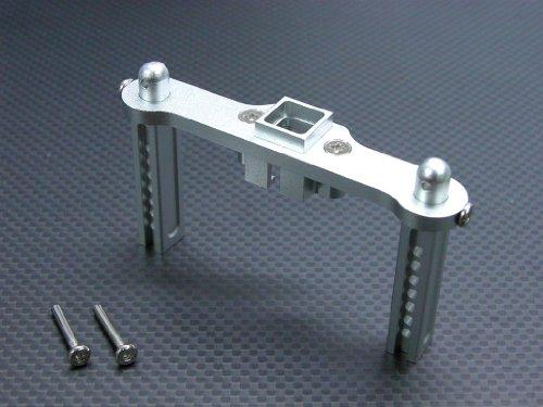 Gpm Revo Rear - Traxxas Revo, Revo 3.3, E-Revo Upgrade Parts Aluminum Rear Body Posts with Screws - 1Pc Set Silver