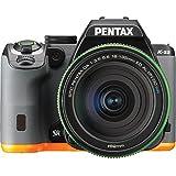 Pentax K-S2 DSLR Camera with 18-135mm Lens (Black Orange)