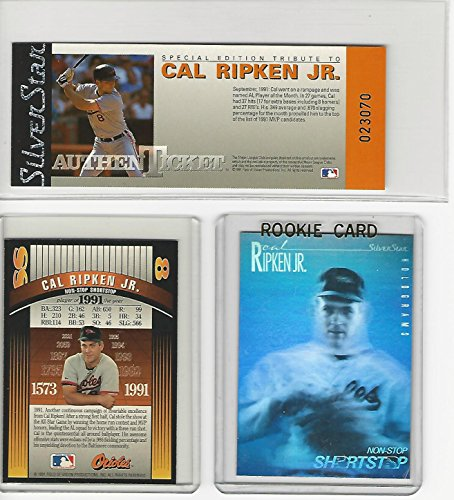 Silver Star Casting (Cal Ripken Jr. (Baseball Card) 1991-92 Silver Star Holograms and AuthenTickets)