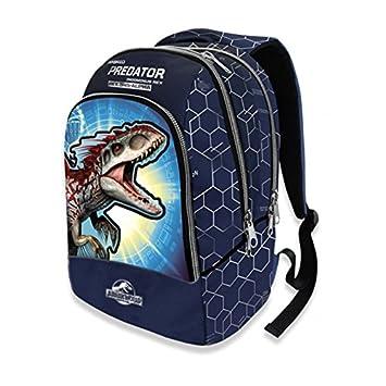 REGALIDEA Mochila Escolar Double Jurassic World by GUT Nueva Colección 2018 + Incluye lápiz Purpurina + Incluye marcapáginas: Amazon.es: Deportes y aire ...