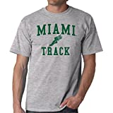 Miami Hurricanes Track Adult T-Shirt
