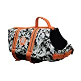 Paws Aboard PAWC1500 Neo Doggy Life Jacket, Large, Grey Camo