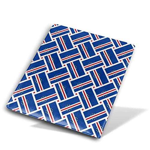 (Cape Verde Flag Weave Jumbo Book Covers Fits Most Hardcover Textbooks Up to 9